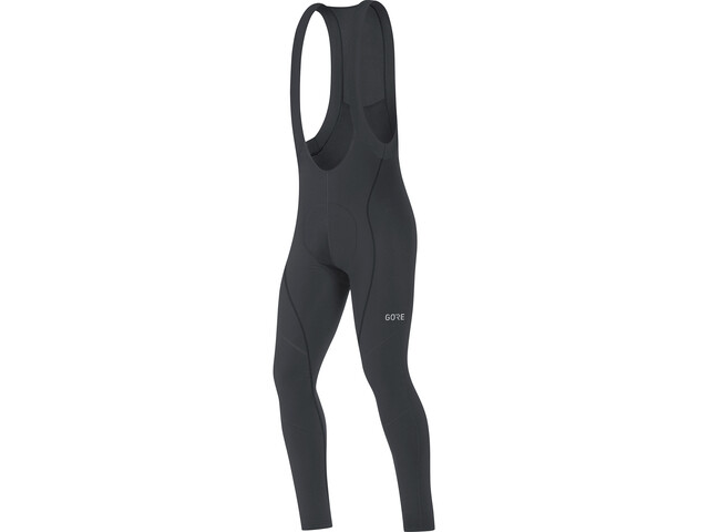 GORE WEAR C3+ Thermo Bib Tights Heren, black